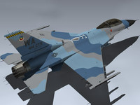 F-16C Flanker (Red 67)