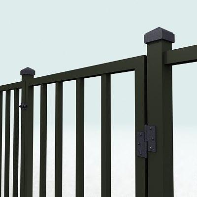 3d model fence door
