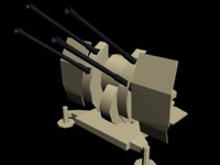 20mm Flak 38 Flakveirling (Simple)