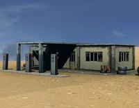 petrol station 3ds