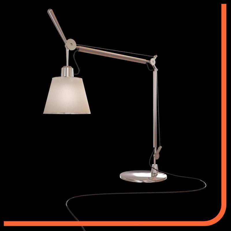 3d model tolomeo t tilt lamp