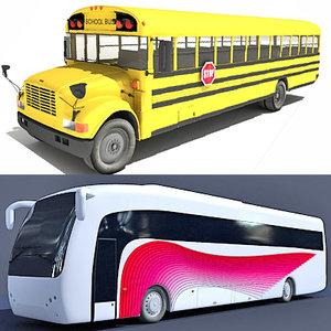 lightwave school bus 2