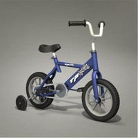 child bicycle 3d 3ds