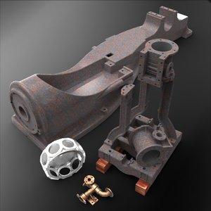 3d model miscellaneous castings