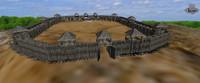 Castle building medieval