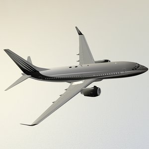 boeing 737-700 dreamliner 3d 3ds