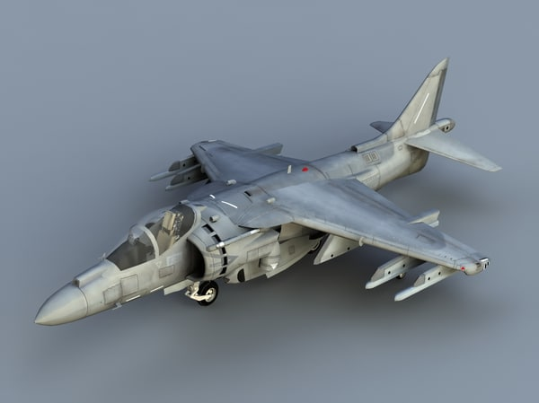 3ds max harrier