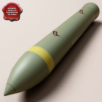 3d aircraft bomb blu-109