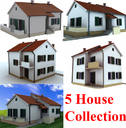 Collection of 5 Houses