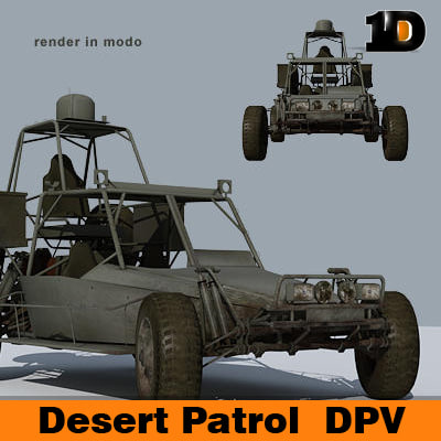 desert patrol vehicle dpv c4d