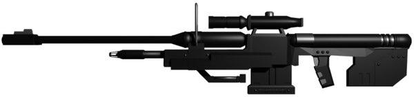 sniper gun 3d model