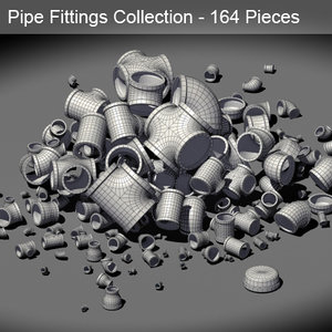 piping fitting 3d model