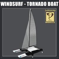 max windsurf - tornado boat