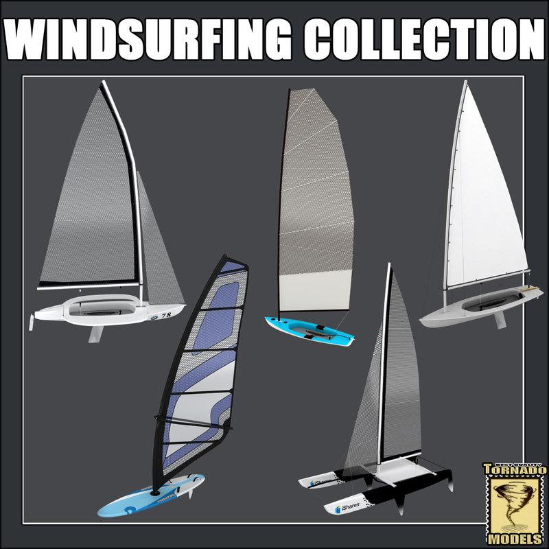 5 windsurfing 3d max