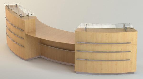 maya reception desk