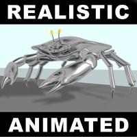 crab robotic 3d model