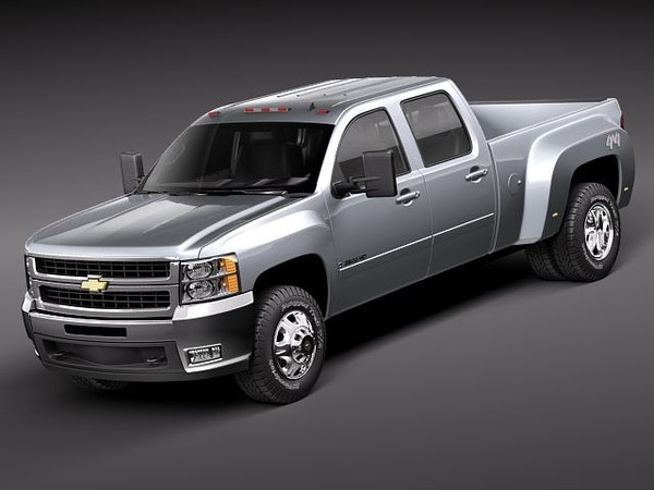 3ds max chevrolet silverado 3500 3500hd