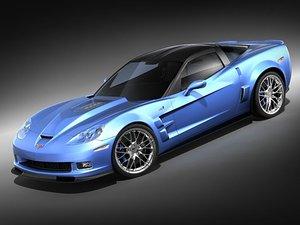 chevrolet corvette zr1 sport 3d max