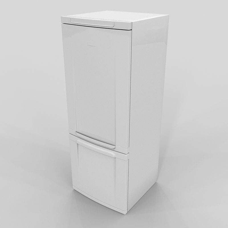 Góra 3d model fridge electrolux intuition space IF61