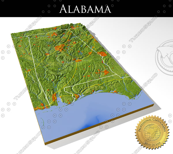 3ds max relief alabama