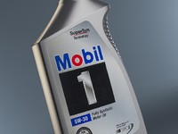 max bottle mobil oil