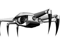 3dsmax robot spider