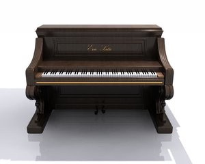 3d hight piano model
