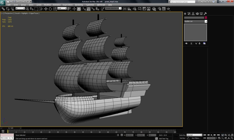 max pirate ship