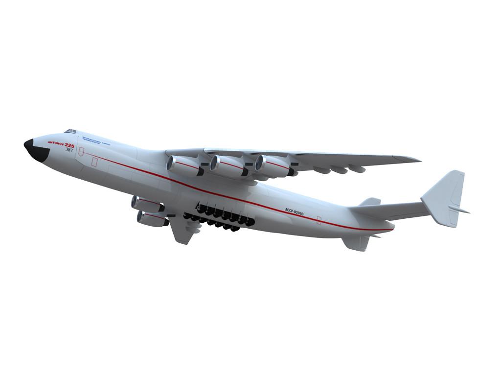 antonov 225 3d model