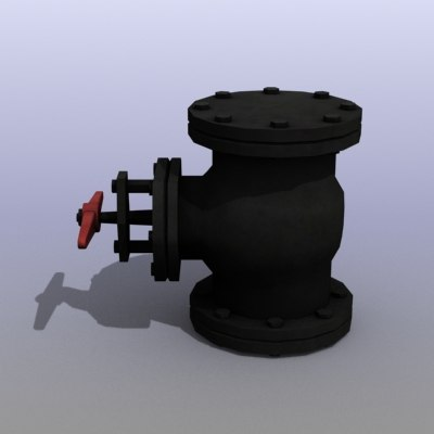 low-poly gas valve max