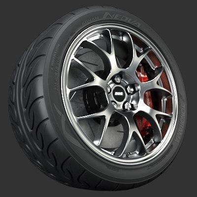 maya bbs forged wheel