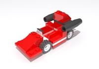 3ds max lego racecar