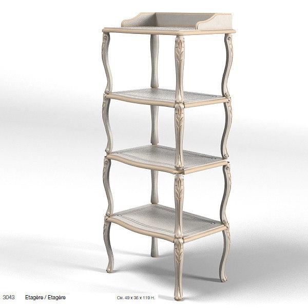 savio fermino 3043 3d model. Black Bedroom Furniture Sets. Home Design Ideas