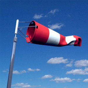 windsock aviation 3d model