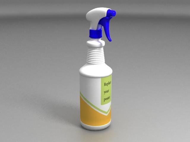 3ds max spray bottle 01