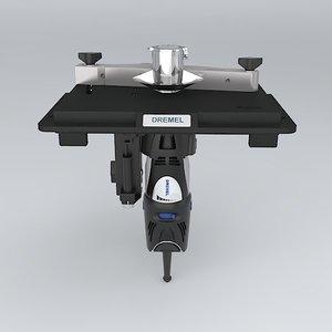 3d dremel shaper-router table 300