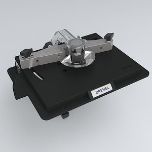 3dsmax dremel shaper-router table