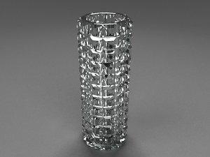 max crysta vase modern
