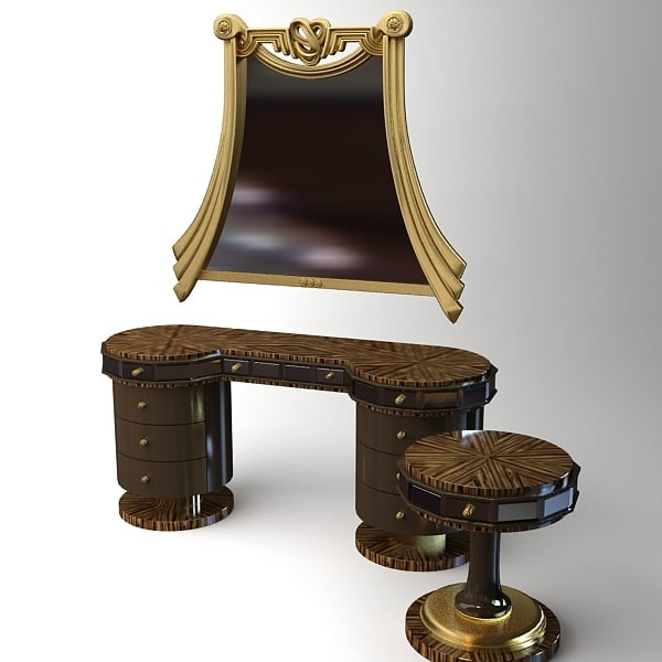 3d furniture grilli modelled model