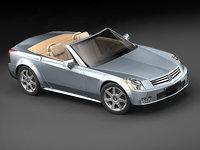 3dsmax cadillac xlr sport luxury