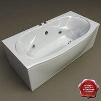 bath v2 3d max