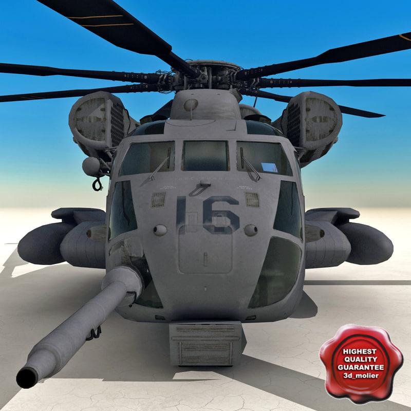 3d ch-53 sea stallion model