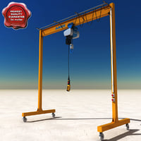 Light Gantry Crane