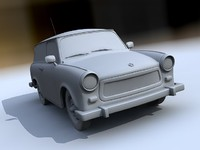 3d german car vehicle model