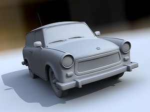 3d german car vehicle model