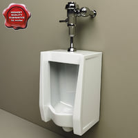 3d c4d urinal v2