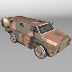 bushmaster transport 3d model