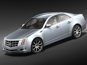 3ds cadillac cts 2009 2
