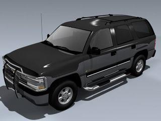 3d chevy tahoe 2001