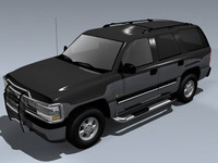 3d chevy tahoe 2001